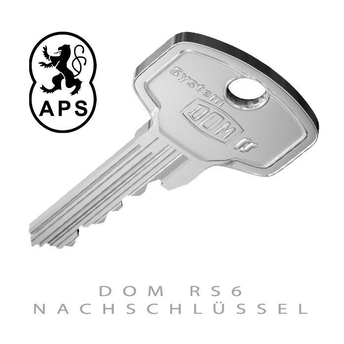 DOM RS6 Nachschluessel