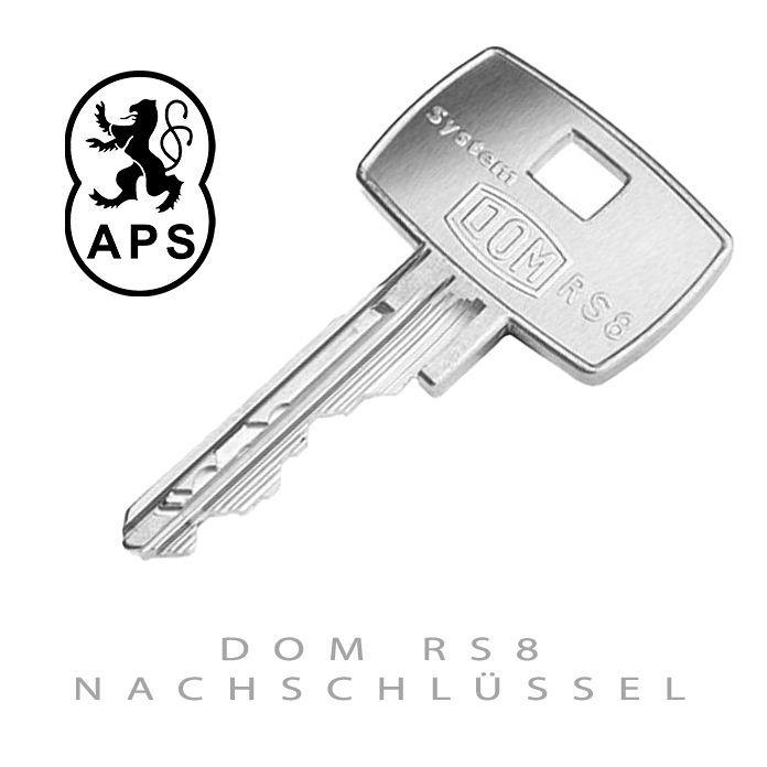 DOM RS8 Nachschluessel