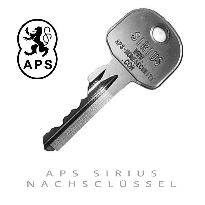 APS Sirius Nachschluessel