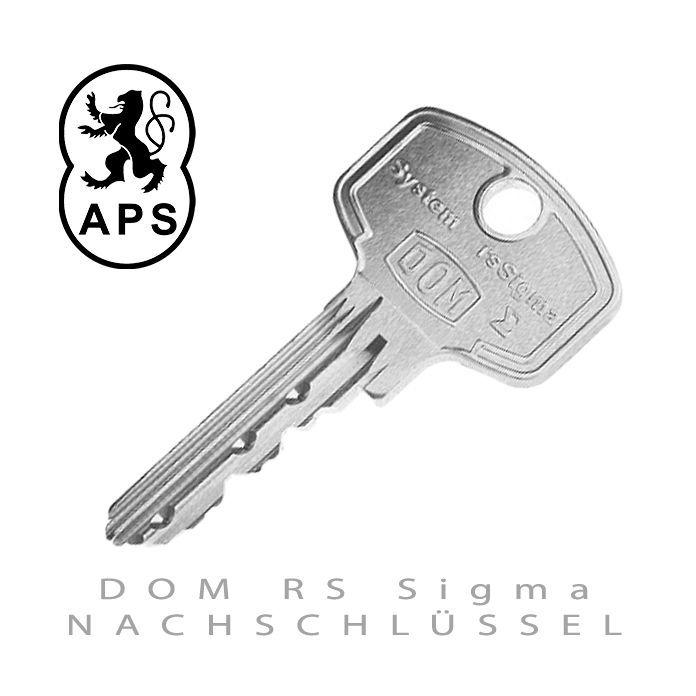 DOM RS Sigma Nachschluessel
