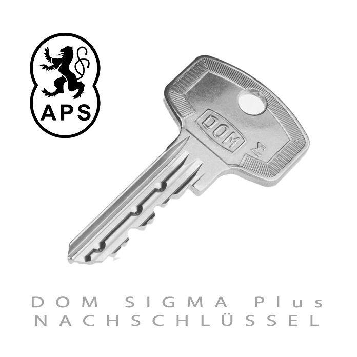 DOM SIGMA Plus Nachschluessel