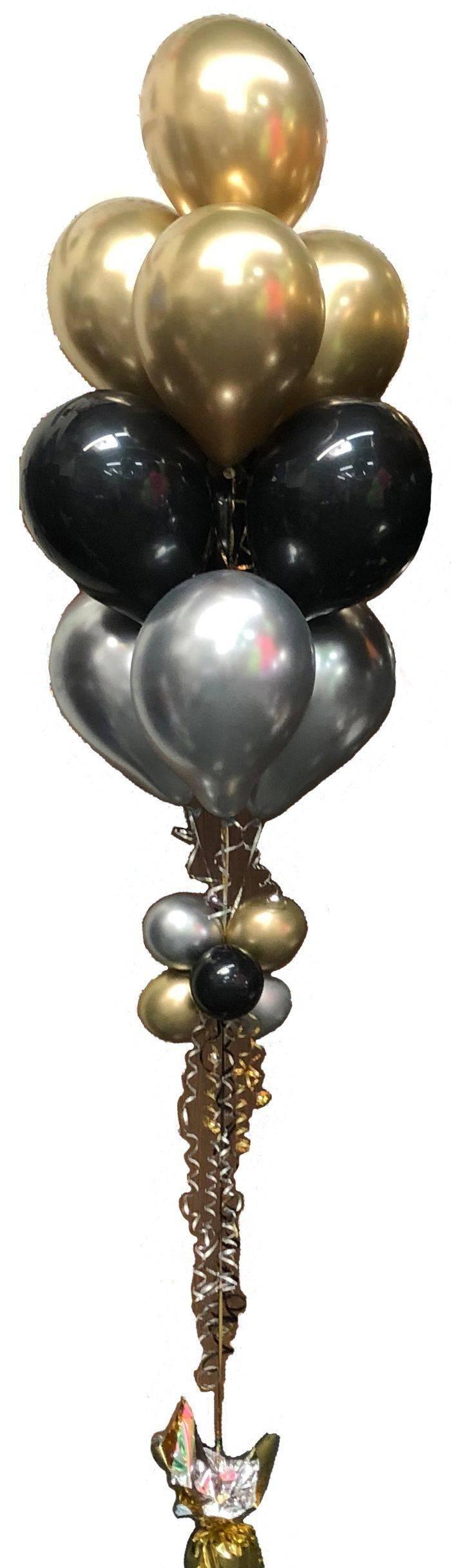 Ten Balloon Bouquet Stack