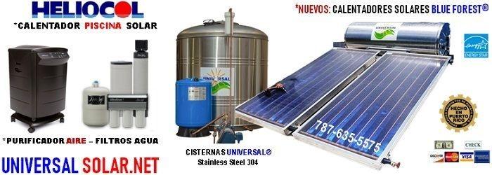 Oferta calentadores solares y cisternas