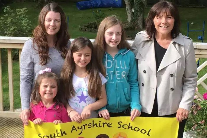 MSP Visit to South Ayrshire School Clothing Bank