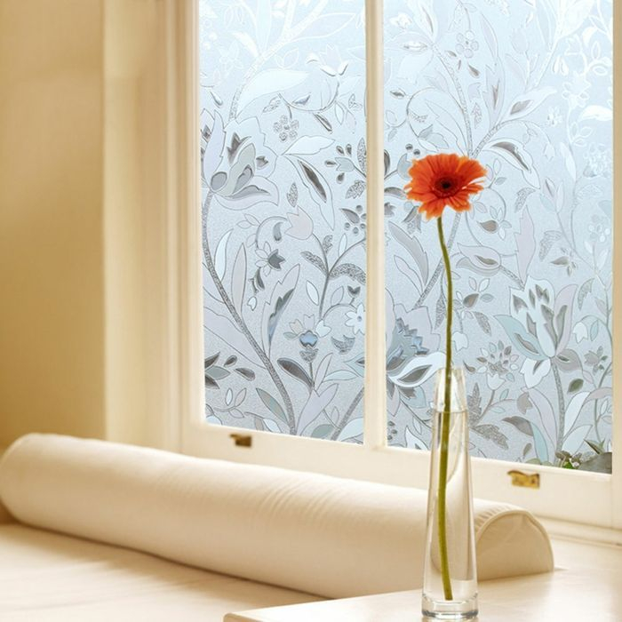 Decorative Patterned  Window Film for Privacy