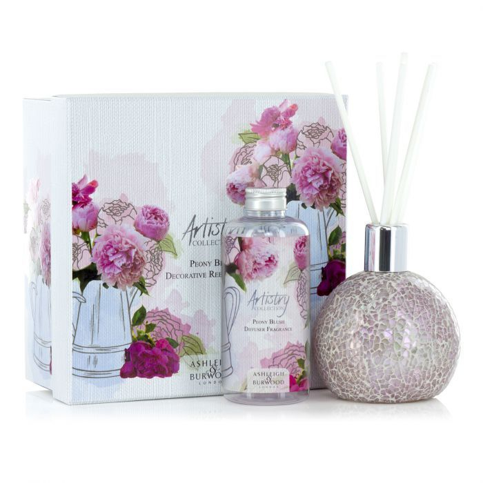 Asleigh & Burwood Artistry Collection Reed Diffuser Gift Scent home Fragrance