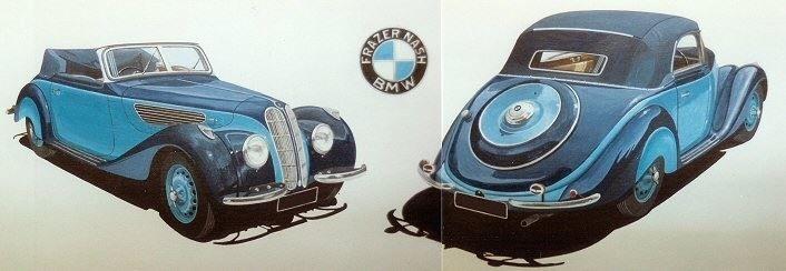 Fraser Nash BMW (Acrylic) : Commission UK