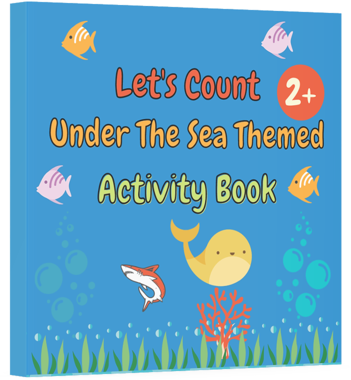 Let's Count Sea Animals: Toddler Counting Book