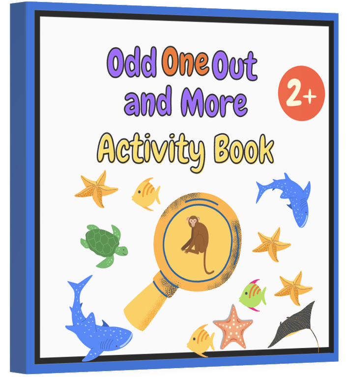 Odd One Out And More Activity Book: For Kids Age 2+