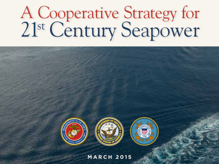 US Navy Maritime Strategy, WIMB, War Is my business