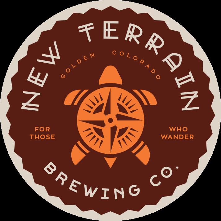 new terrain brewery logo golden co