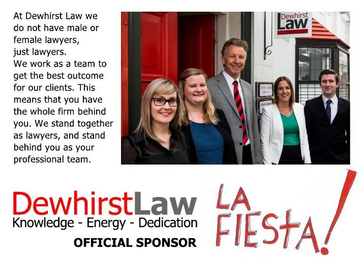 Dewhirst Law. We stand behind you as your legal team. Phone (06) 281 3461