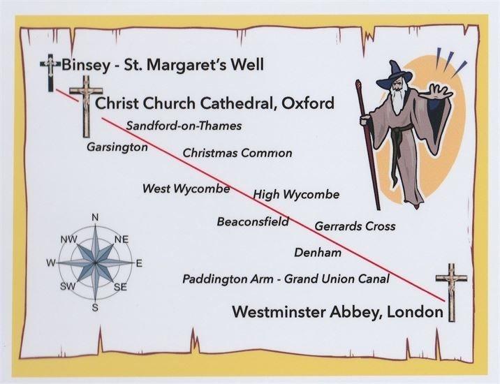 LONDON OXFORD MAP