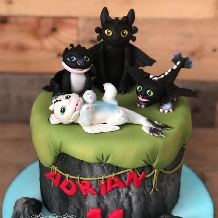 birthday cake how to train dragon toothless babies