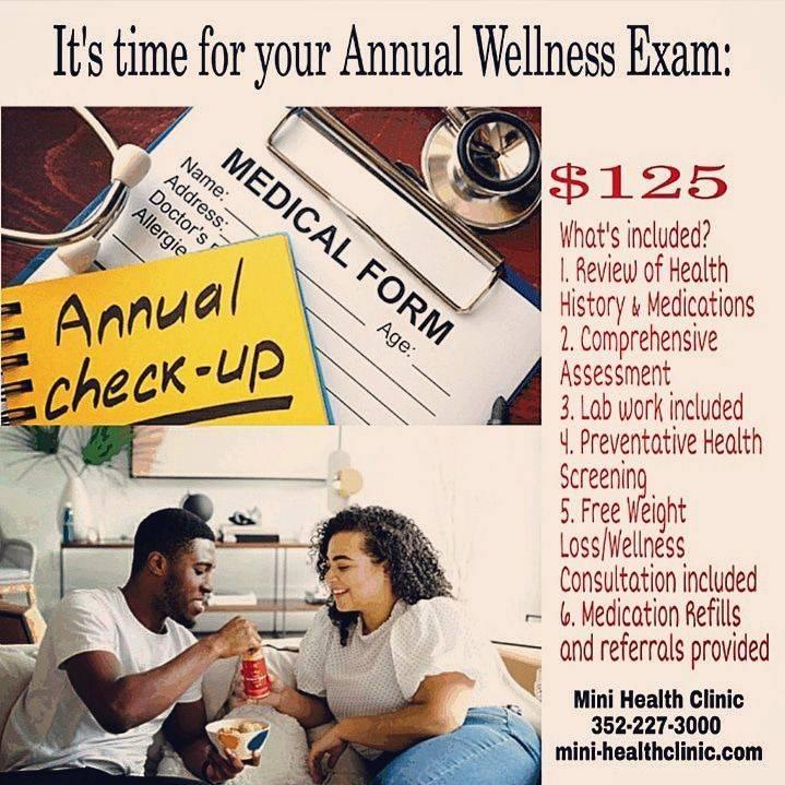 Annual Wellness Exam Deal