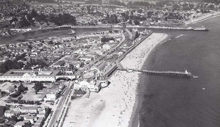 Santa Cruz Beach Boardwalk and Wharf