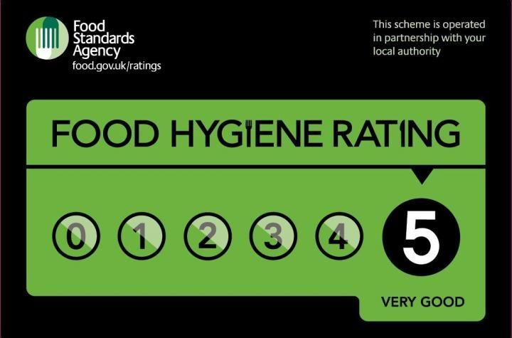 Cakes Beautiful 5 star Food Hygiene Rating