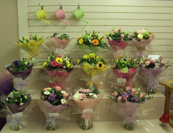 Fresh flower bouquets