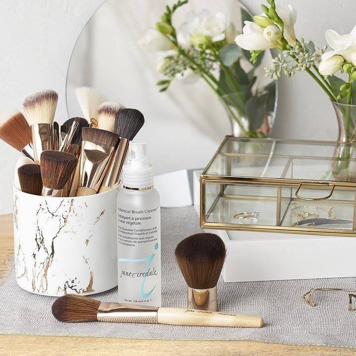 Jane Iredale, Foundation, Mineral, Makeup, Cruelty Free, Vegan, makeup brushes