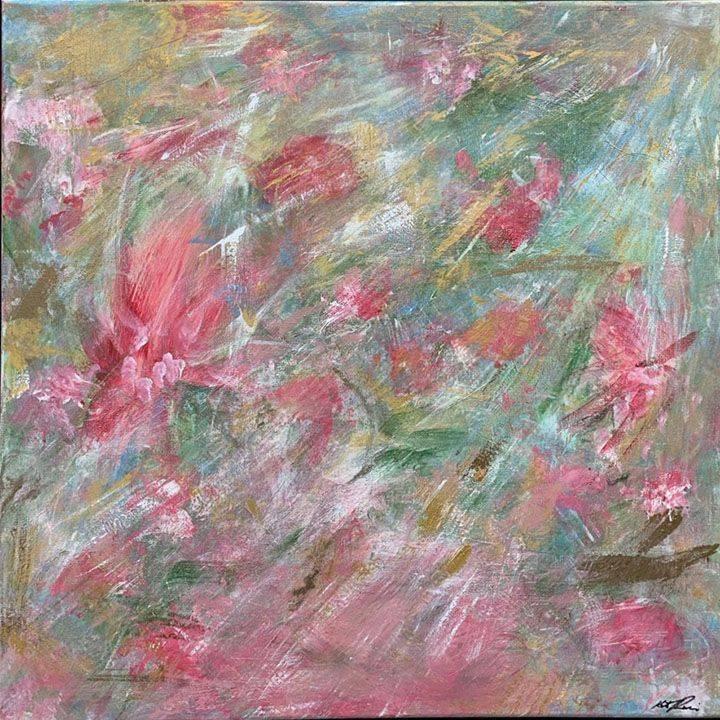KRobinson - Summer Bliss -Acrylics 26x26 $495