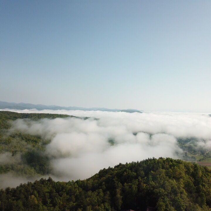 drone photography landscape aerial wnc
