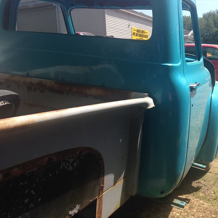 1953 Ford F100 project