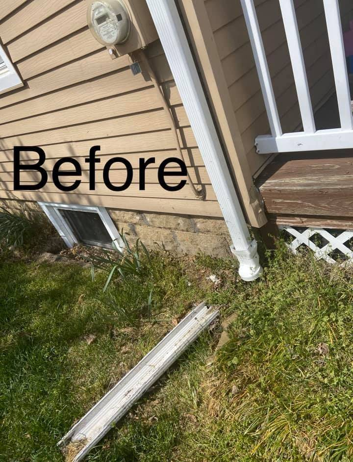 Gutter repair, Local gutter repair, low cost repair gutter