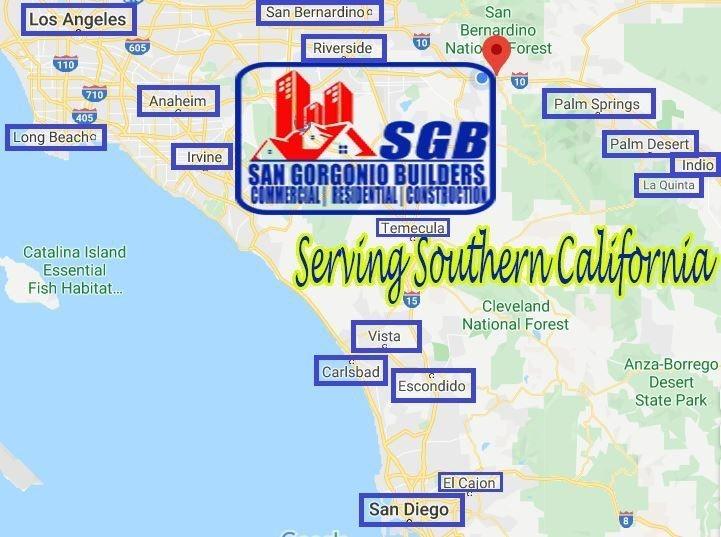 Google My Business Map, San Gorgonio Builders, California, Contractor, Bathroom Remodeler Contractors