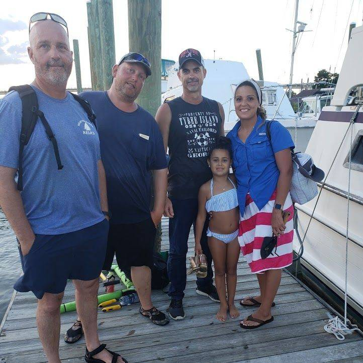 Charter guests from 5/20/2019