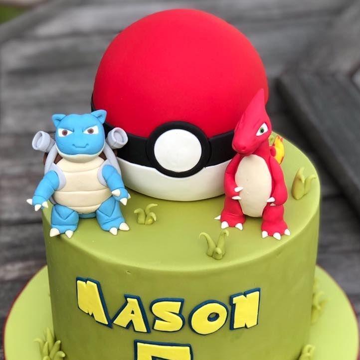 pokemon cake birthday ball