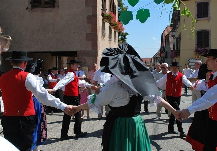 Danse folklorique Alsacienne