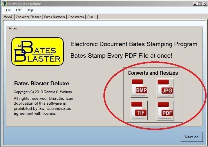 Bates Blaster Deluxe screen shot