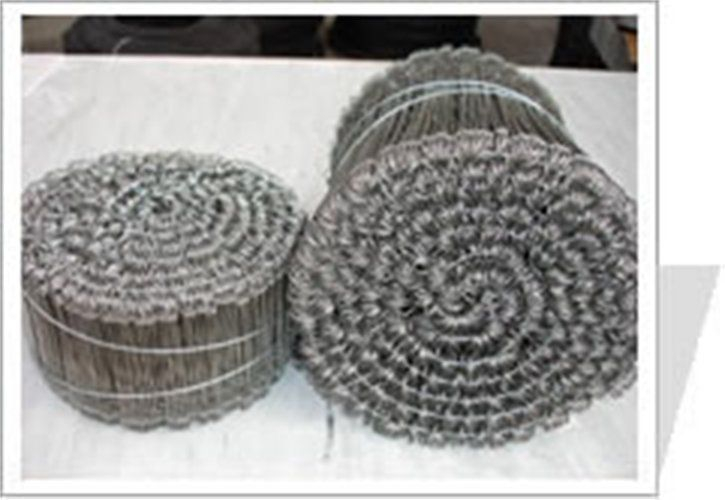 """Wire Ties  We supply galvanized iron wire in small coil of different sizes at your option. Loop tie wire is available in length from 3"""" to 24""""."""