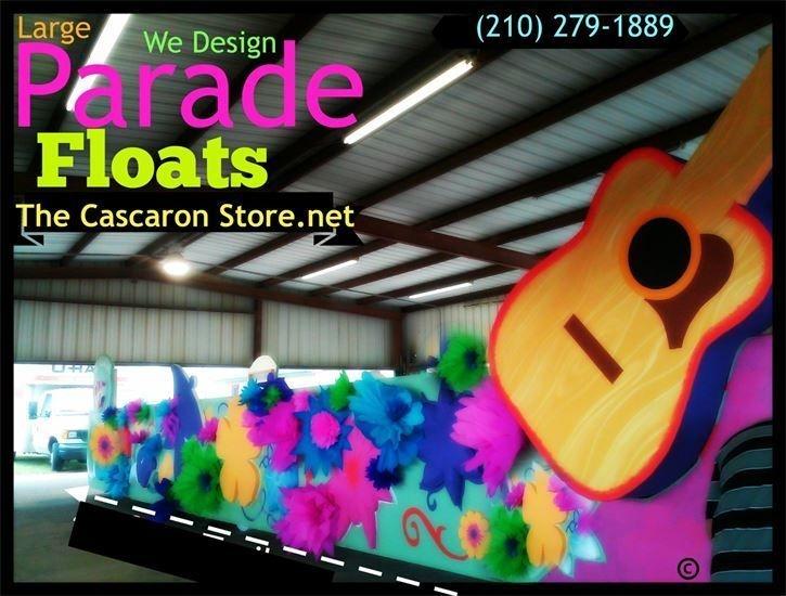 custom parade floats in Texas