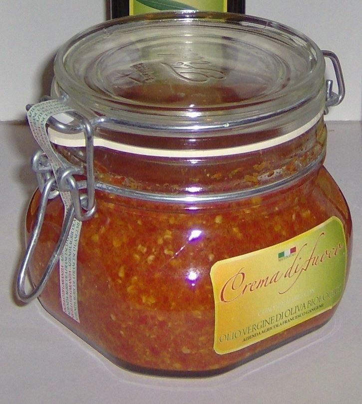 crema di fuoco g 500-Azienda Agricola Francesco Gangemi