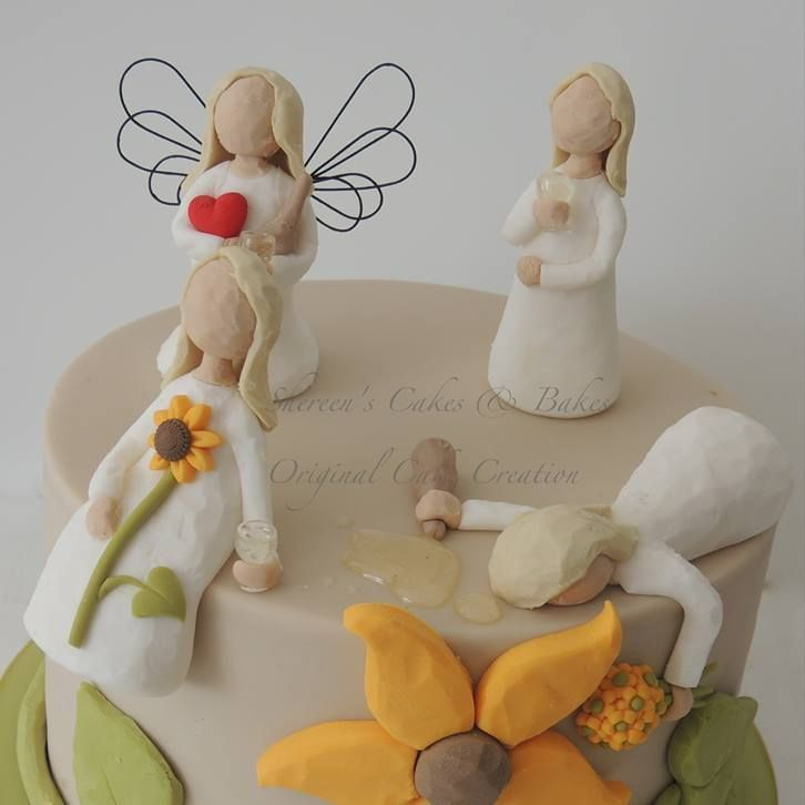 willow Tree Birthday Novelty Cake