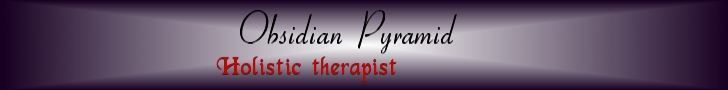 Obsidian Pyramid holistic therapies Bristol and Somerset website banner 1