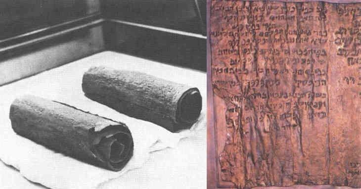 Le mystère du rouleau de cuivre : une carte au trésor menant à un temple secret perdu ?