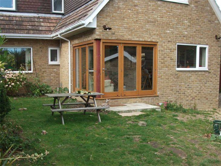 GARDEN DECKING PICTURES BEFORE AND AFTER CAMBRIDGE