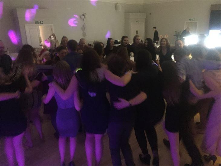 Guests on the dance floor at a WeddingParty, Mobile Disco, Southport, DJ, Wedding, Karaoke, Birthday, Race Night, Event, Glynn Tee