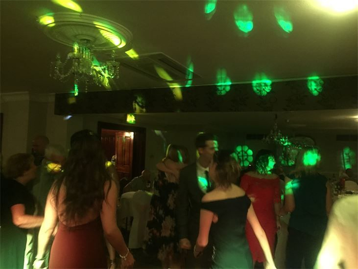 Southport DJ, Glynn Tee, filling the dance floor at an 18th Birthday Party at The Arion, Ainsdale.