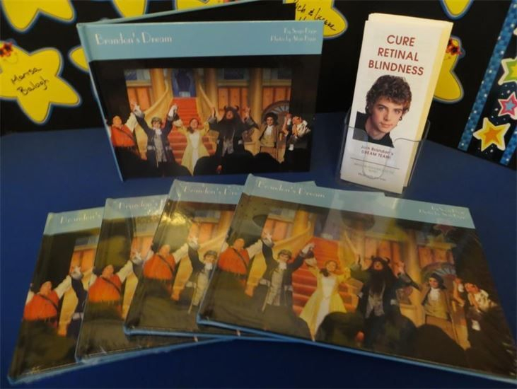 CRB pamphlets and books displayed on a table