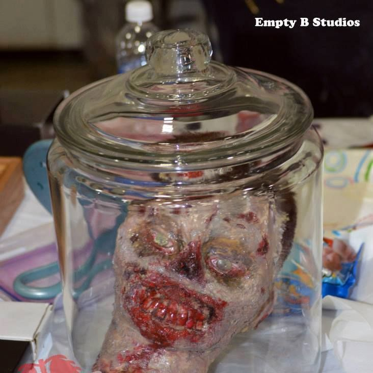 Get dead crew head zombie prop