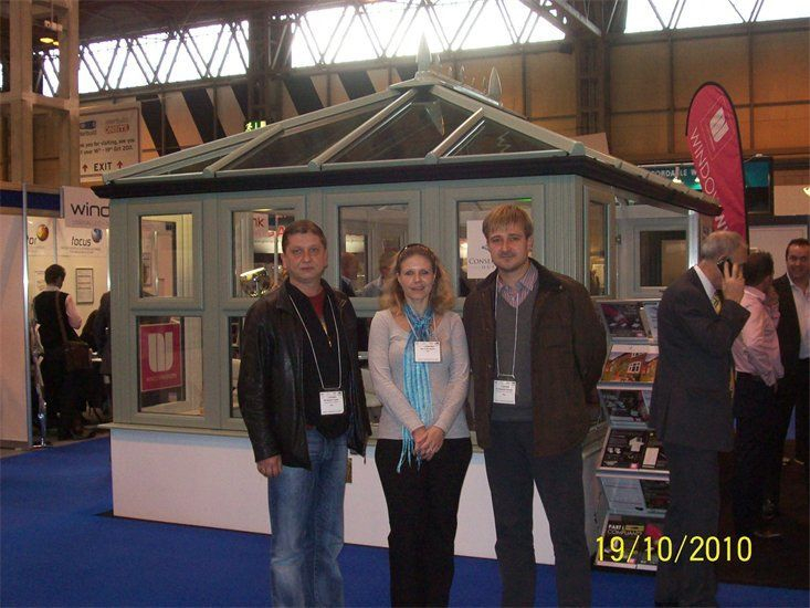Glass exhibition, NEC - Russian Translations Plus