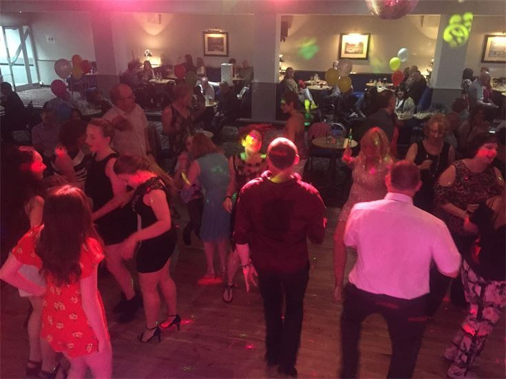 Dance floor at Crosby Conservative Club - Southport DJ - Wedding DJ