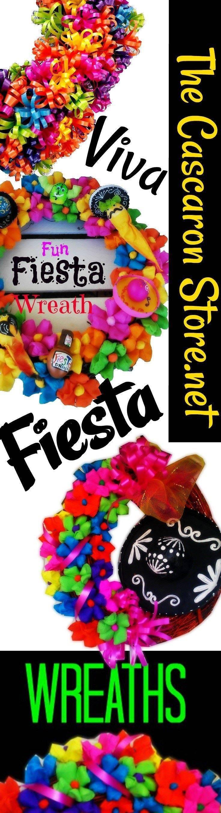 fiesta wreaths in San Antonio