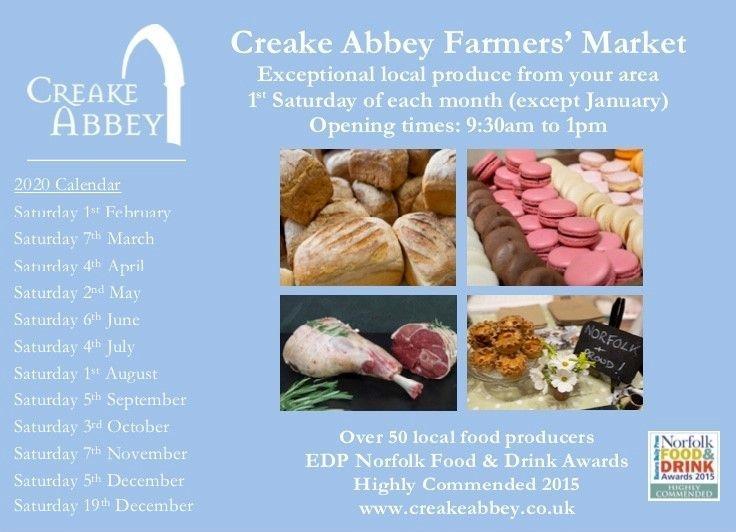 Creake Abbey Farmers market