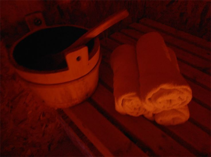 Picture of Sauna Interior No People