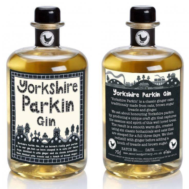 Yorkshire Parkin Gin Spirit Ginger Cake Drink Molasses Brown Sugar Oats