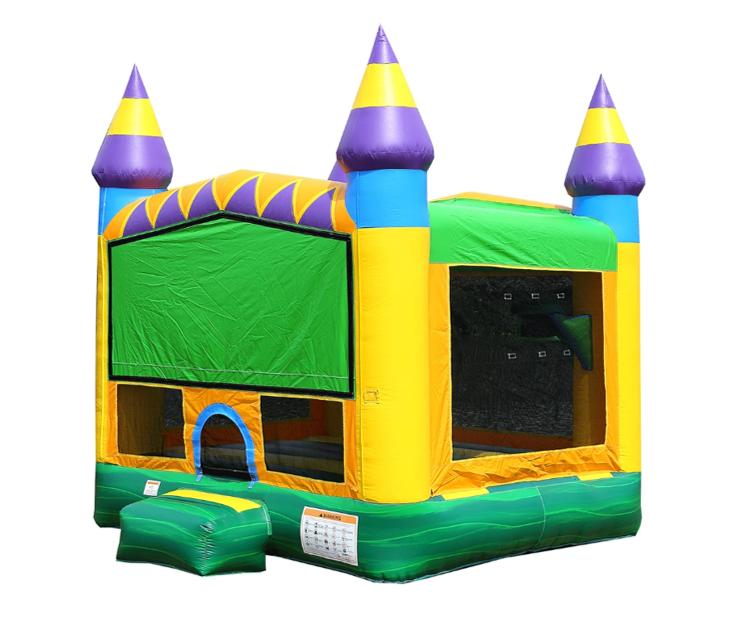 Jungle Zoo 13' x 13' Bounce House